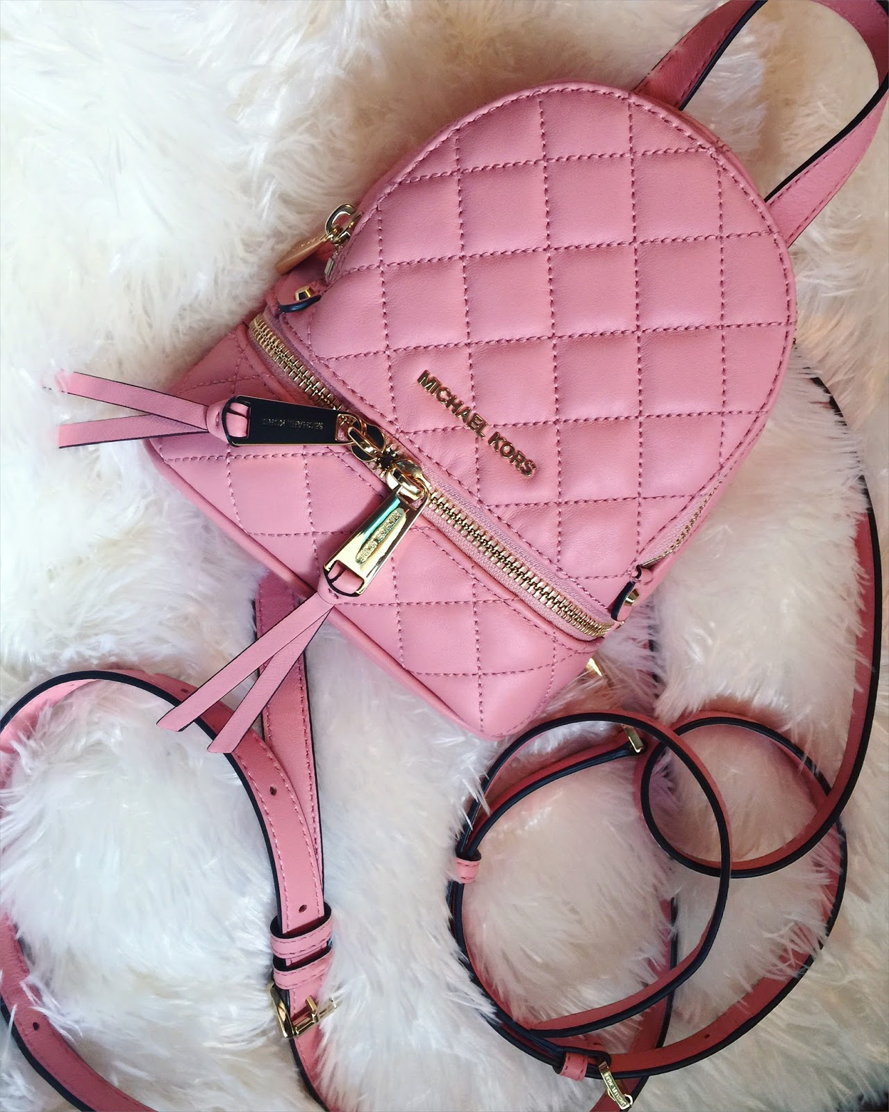 LeBoo Surprised Me ♥ … | Michael Kors Rhea Extra Small Backpack