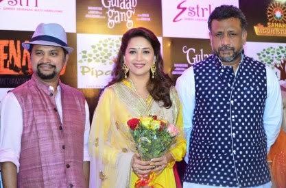 Madhuri Dixit on promotion of Bollywood movie Gulaab Gang
