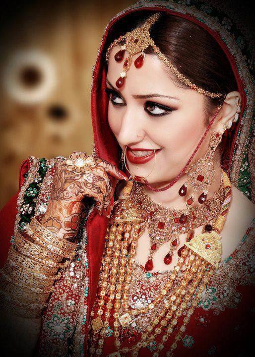 Latest Bridal Make up 2014 ( Special Pakistani Dulhan Barat Make up) - Just Bridal