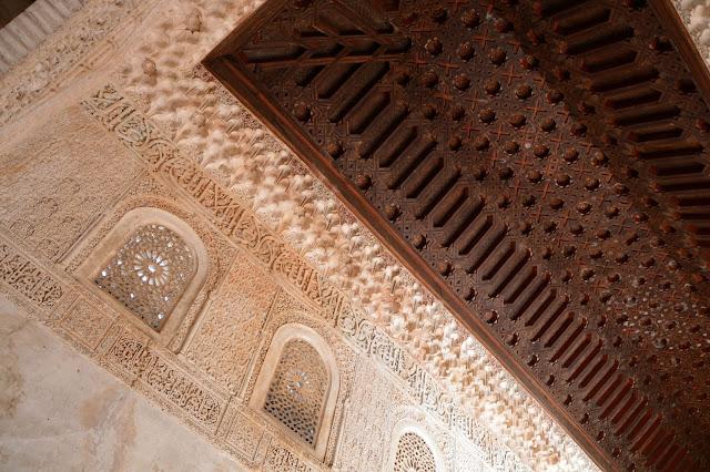 Alhambra drewniany sufit