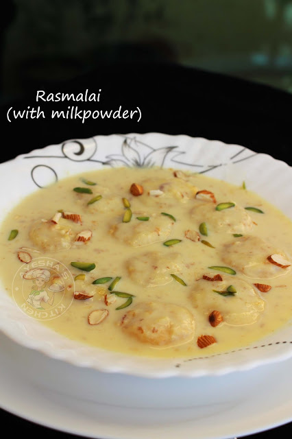 instant dessert with milk powder ras malai yummy indian sweets easy quick