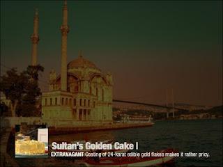 Cake Termahal dan Terlezat di Dunia - Sultan's Golden Cake