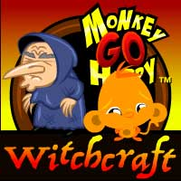 Play Monkey Go Happy: Witchcra…