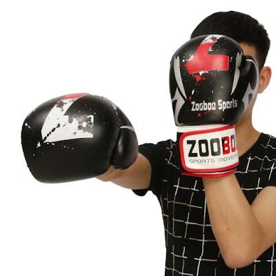 tập boxing bằng găng tay