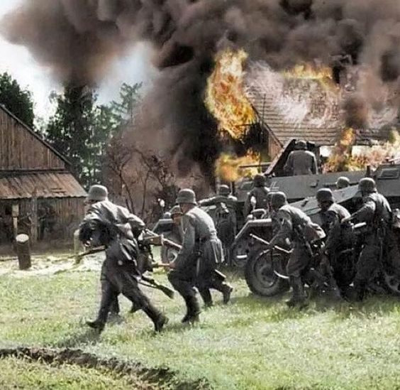 Operation Barbarossa Color Photos World War II worldwartwo.filminspector.com