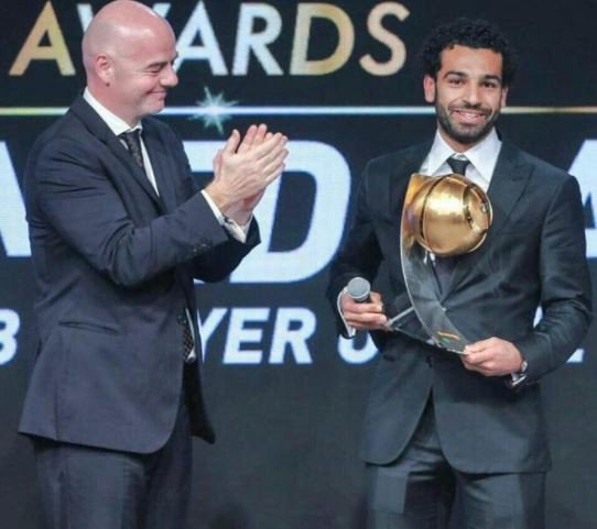 Mohamed Salah crowned as 'African Player of Year' at CAF Awards (Full List)