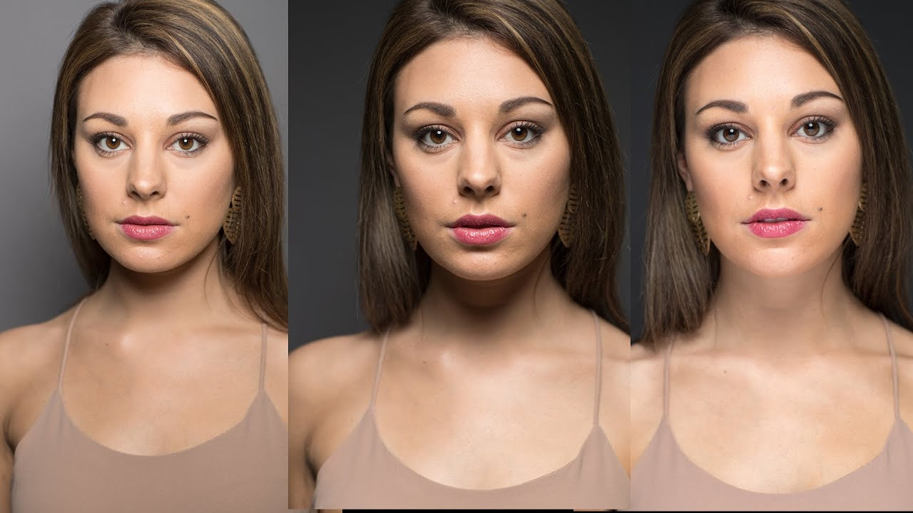 Control the Contrast in Beauty Portraits: Shaping a Model's Face with light