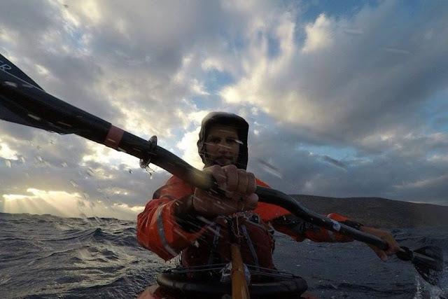 Ο Έλληνας που έκανε το γύρο της Κρήτης με καγιάκ σε 39 μέρες! (βίντεο)