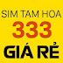 Sim Viettel Tam Hoa x333x - Đồng giá 75.000/sim