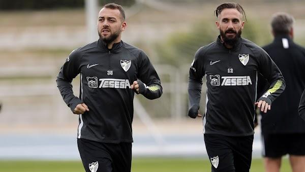 El Málaga entrena hoy a las 11:00 horas