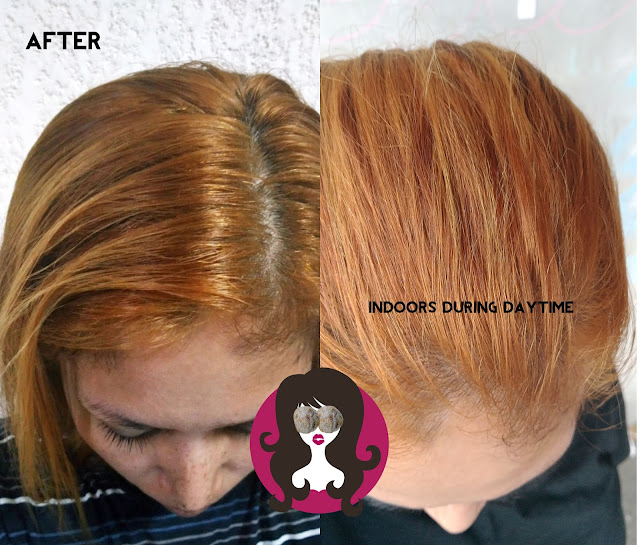 Palty Creamy Hair Dye in Hard Bleach Gold Brown