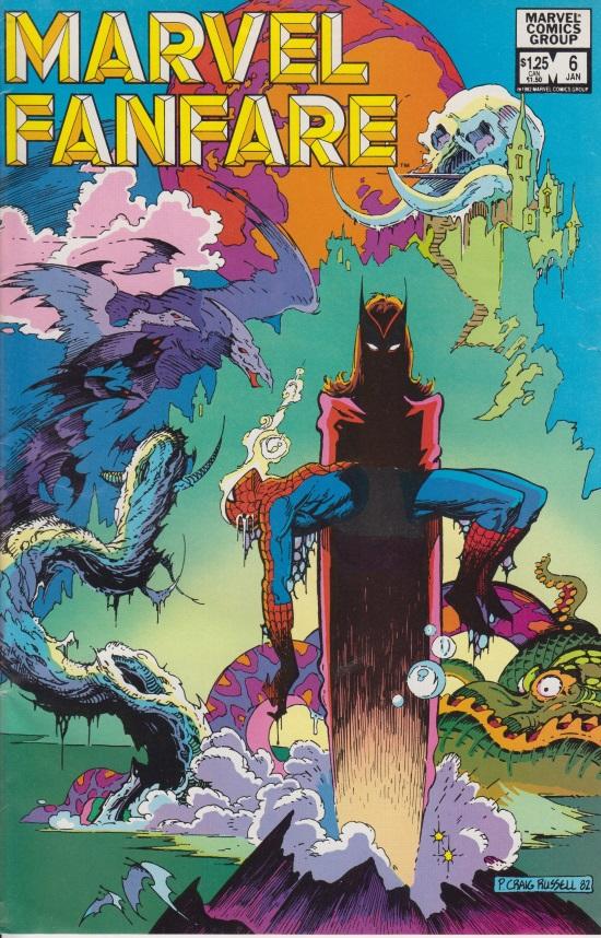 Marvel Fanfare #6, portada de P. Craig Russell