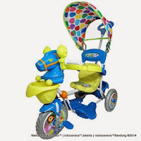 Royal Kuda Horse Baby Tricycle