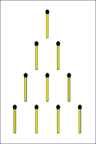 Matchsticks Tower Riddle