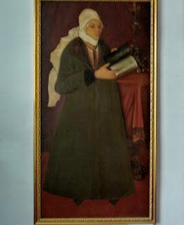 Руда. Музей. Портрет Олени Стеткевич, дружини Виговського. Копія полотна невідомого художника 17 ст.