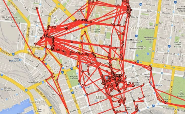 Google Maps Tracks Your Every Move