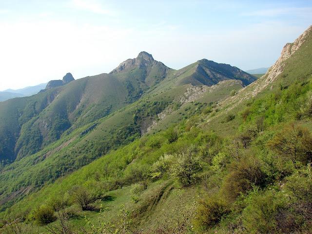 Горы вокруг урочища Панагия