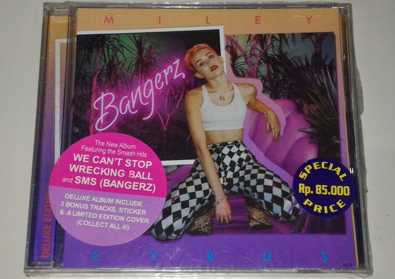 Miley Cyrus Bangerz Deluxe CD Miley Cyrus - Bange...