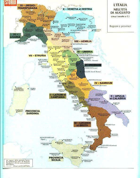En tierras de Clío: ITALIA ANTIQUA