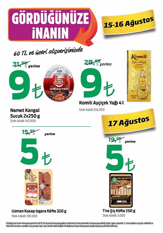 Kipa kampanya, Kipa indirimli ürünler, Kipa fırsat ürünleri, Kipa 15 Ağustos kataloğu, Kipa iyi fiyatlı ürünler