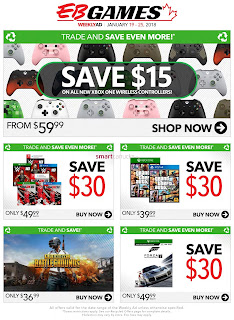EB Games weekly flyer January 19 - 25, 2018