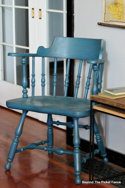 Thrift Store Chair Makeover with Fusion Mineral Paint