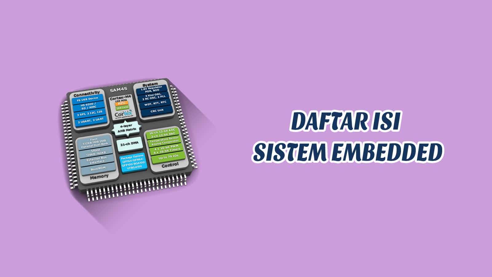 Daftar Isi - Sistem Embedded