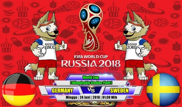 Prediksi Germany vs Sweden 24 Juni 2018