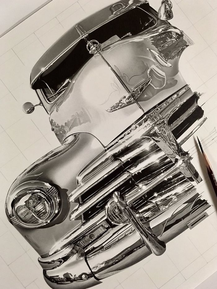 09-Muscle-Car-WIP-Kohei-Ohmori-大森-浩平-kohei6620-Drawing-Perfection-www-designstack-co