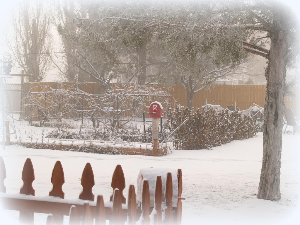 Crafty Home Cottage Snow Snow Go Away