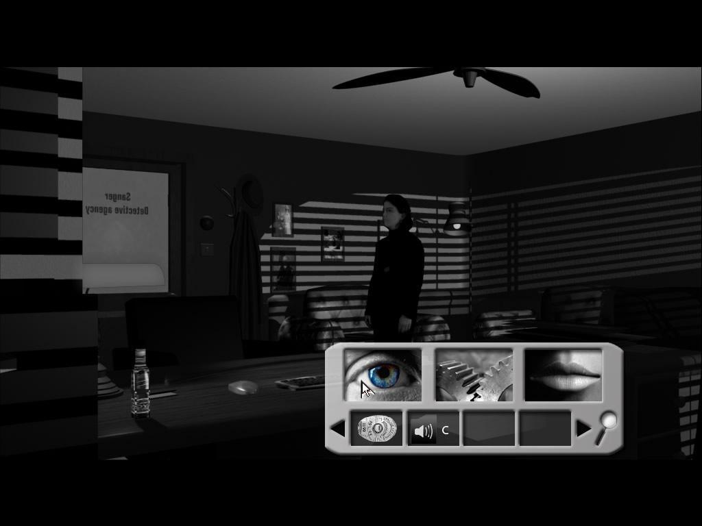 Un actor de carne y hueso en un escenario creado por ordenador.