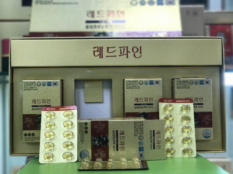 tinh dầu thông đỏ Dami Hàn Quốc