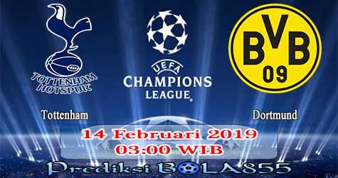 Prediksi Bola855 Tottenham vs Dortmund 14 Februari 2019