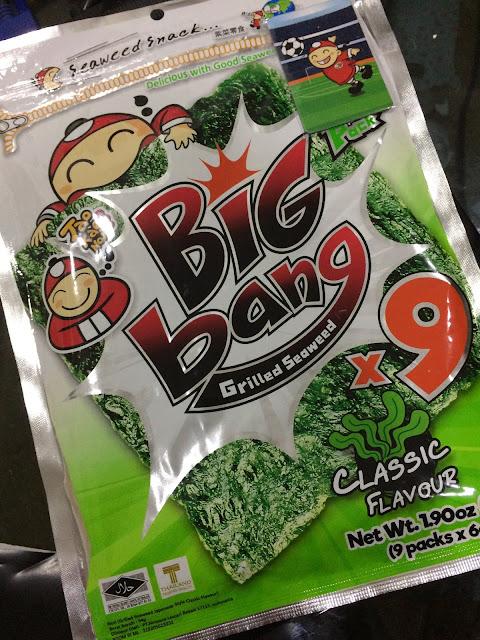 GRILLED SEAWEED BIG BANG TAO KAE NOI
