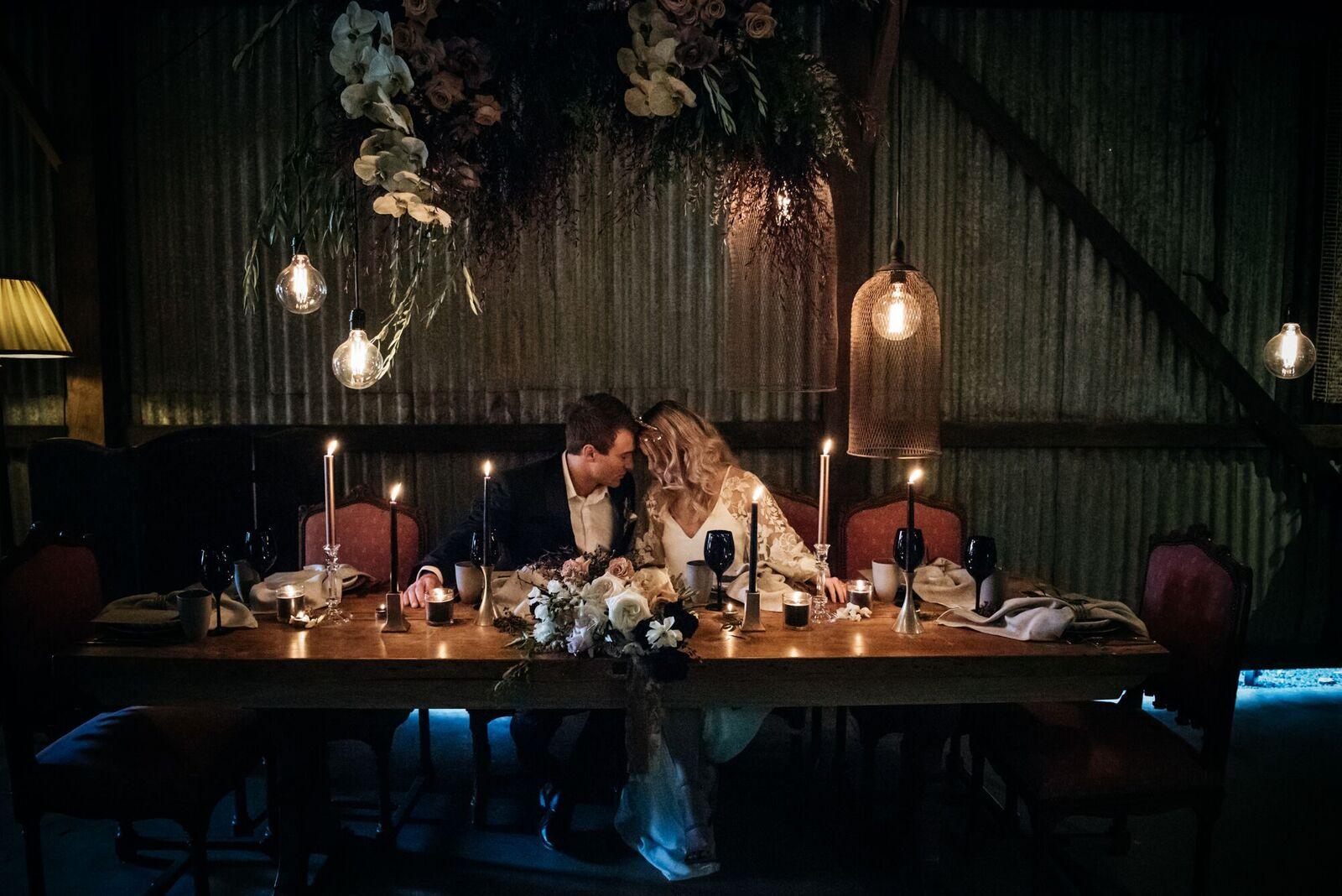 STYLED: MOODY WEDDING INSPIRATION | THE BLACK BRISBANE QLD