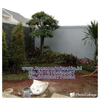 Kami tukang Taman minimalis menyediakan jasa pembuatan, renovasi, perawatan Taman gaya Bali minimalis,  Taman kering Taman vertical garden dengan harga paling mura