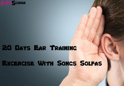 Ear Training solfascorer