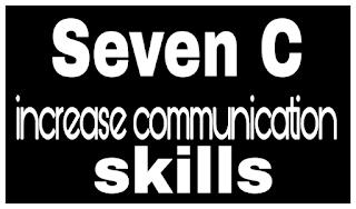 Seven C increase communication skills
