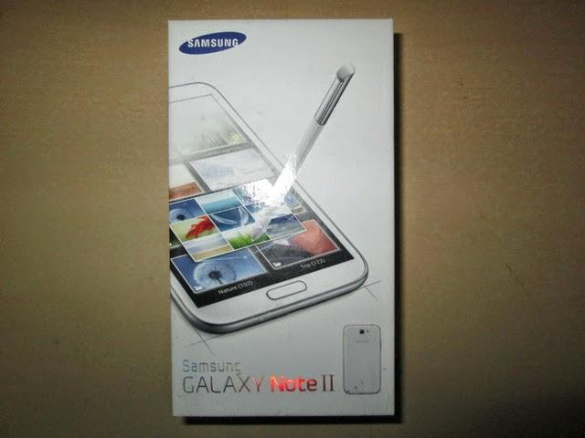 Dus Samsung Galaxy Note II Bekas Layak Pake
