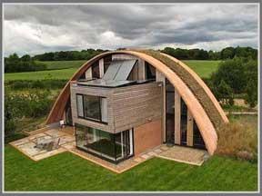 Contoh Bamginan dengan Arsitektur organik