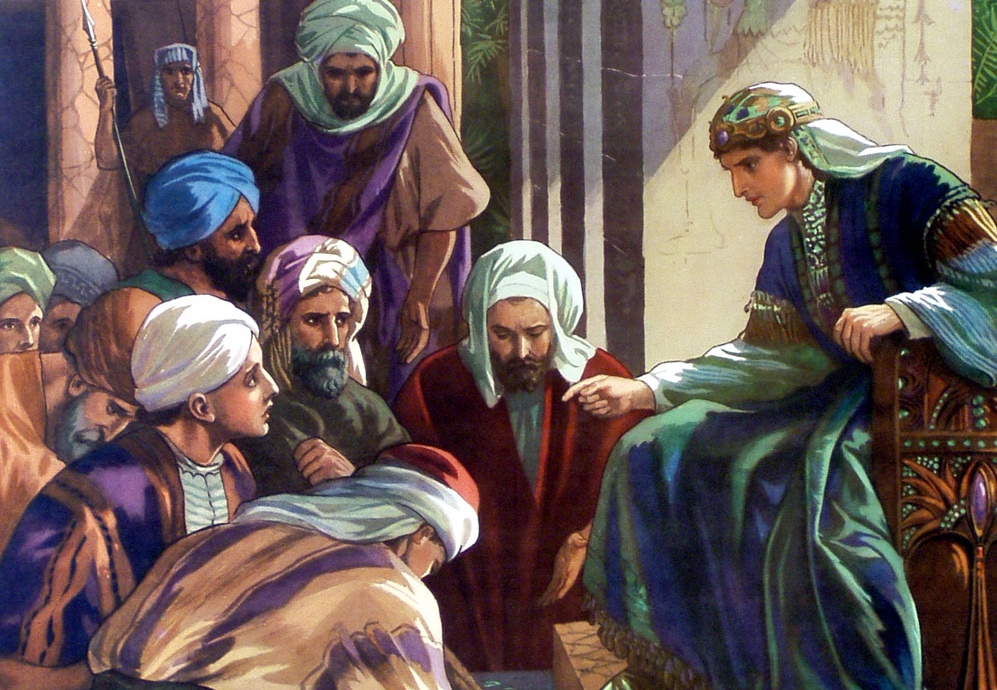 Joseph Reveals Himself To and Reconciles With His Brothers In Egypt