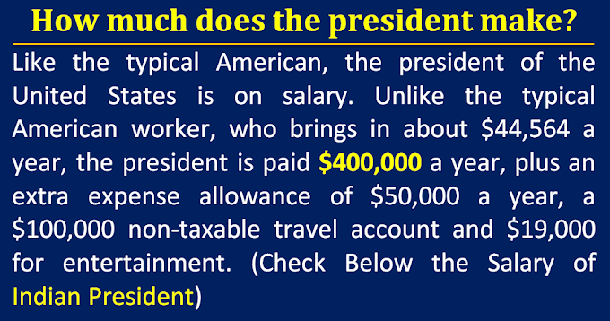 How much does the president make? Salary of Indian President