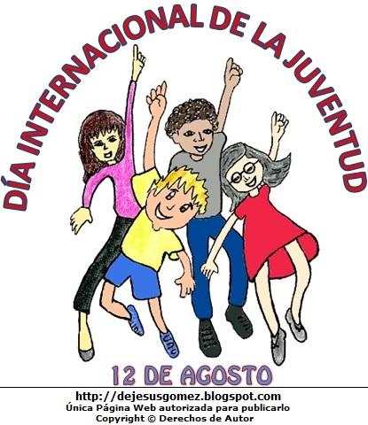 Imagen alusivo al Día Internacional de la Juventud de Jesús Gómez