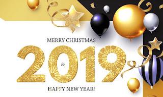 رسائل وصور تهنئة رأس السنة 2019 بطاقات وكروت السنة الميلادية الجديدة 2019 Happy New Year