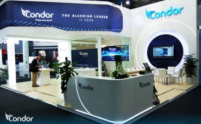 شركة كوندور Condor للإلكترونيات و الهواتف الذكية في الجزائر
