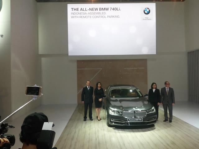 BMW seri 7 lokal