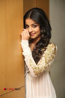 Telugu Actress Mahima Makwana Stills in White Desginer Dress at Venkatapuram Movie Logo Launch  0100.JPG