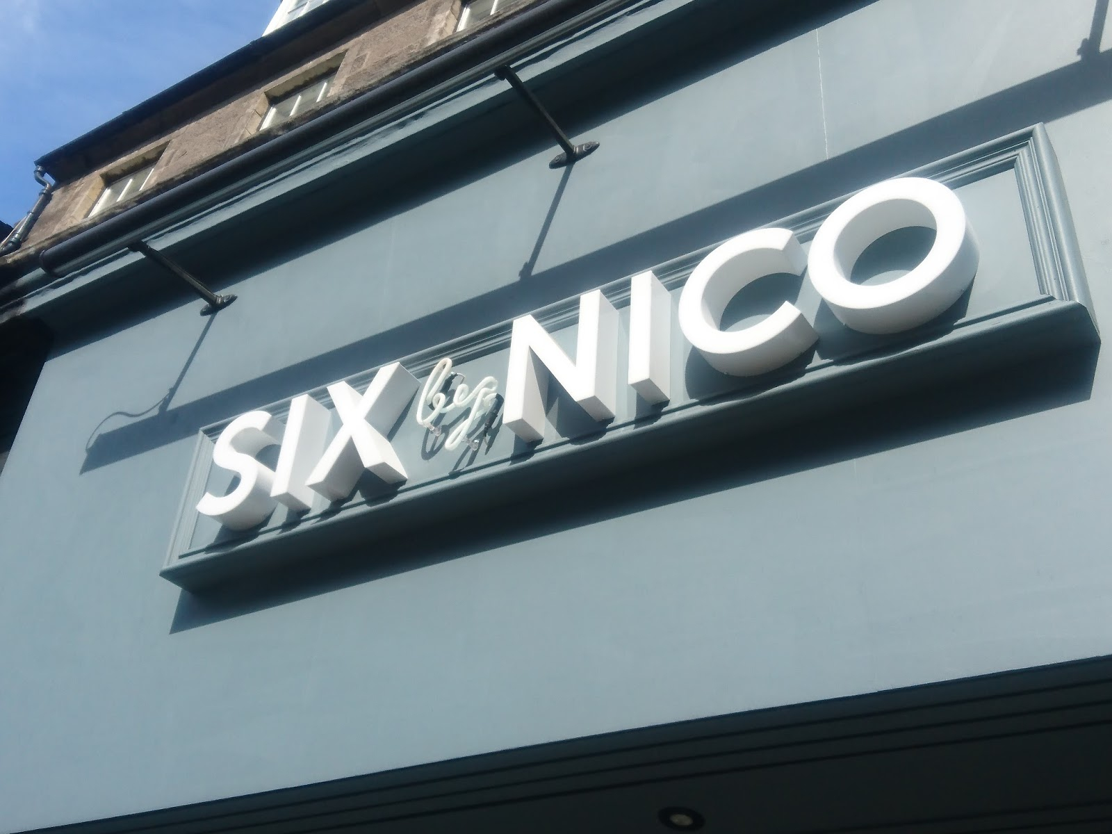Review: Six by Nico, Edinburgh