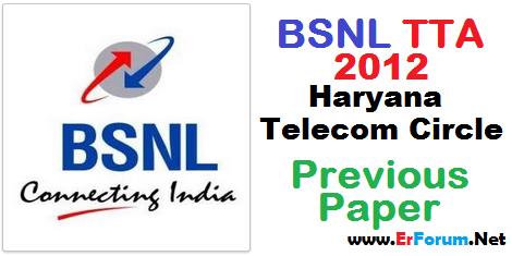 bsnl-je-2012-haryana