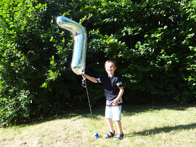 7th Birthday Balloon